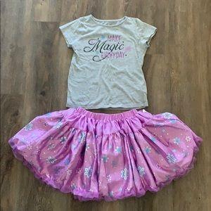 Frozen outfit Tutu skirt